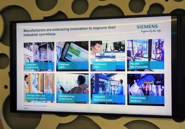 אלה הפתרונות של סימנס, המשרתים את יצרני הפתרונות לתעשייה התהליכית בעולם ה-B2B2C. צילום: פלי הנמר