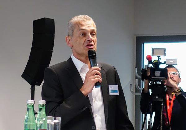 """אקהרד אברלה, מנכ""""ל היחידה העסקית לאוטומטיזציית תהליכים של סימנס. צילום: פלי הנמר"""
