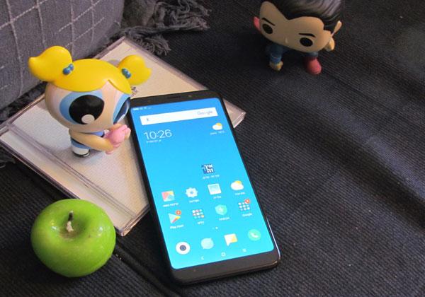 Xioami Redmi 5 Plus. צילום: דורון קצבורג