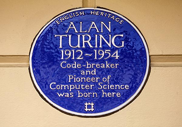 מונומנט לזכרו של טיורינג בלונדון. צילום: BigStock