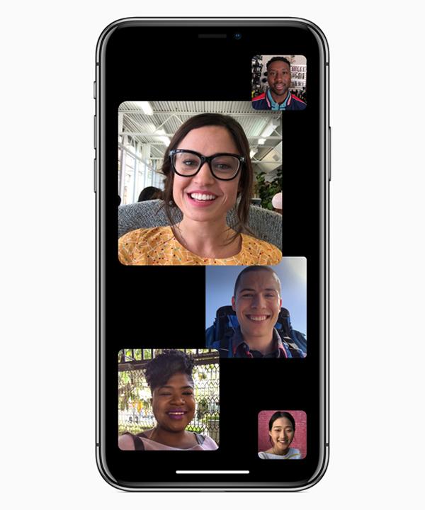"""שיחות קבוצתיות ב-FaceTime. צילום: יח""""צ"""