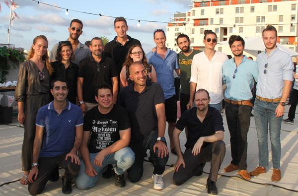 """חשיפת המיזמים בנוכחות ראש השב""""כ, נדב ארגמן, באונ' תל אביב. צילום: אילון יחיאל"""