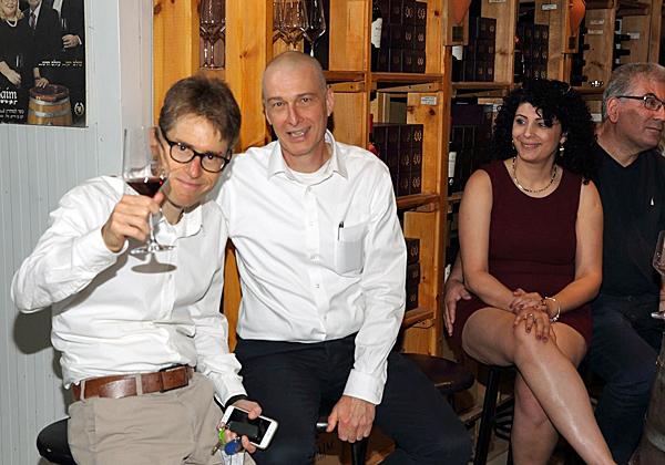 """מימין: שי שרגל, מנכ""""ל RBS Projects, ובן פסטרנק, מנכ""""ל קבוצת אמן. צילום: אילן פורת"""